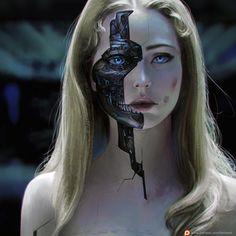 Dolores Disassambled – Westworld fan art by Oliver Wetter | Spass und Spiele