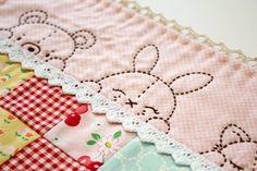 Sleepy Time Animal Pals embroidery pattern PDF