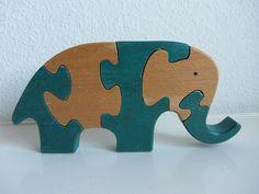 Elephant, Elefant, Puzzle, Antonio Vitali, Ravensburger   von JO JE BIN