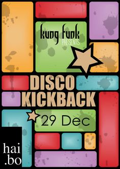 Kung Funk December 2012 season calendar/flyers. by Tj van Rensburg, via Behance