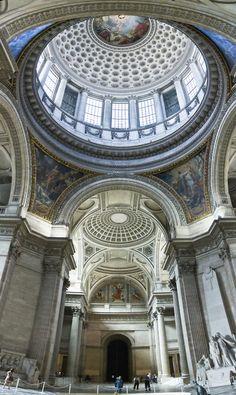 Latin Quarter, inside the Pantheon, Paris V