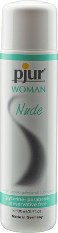 Pjur Woman Nude Water-Based Lubricant - 100Ml Funtimes209