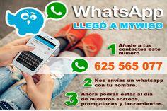 WhatsApp llega a Mywigo
