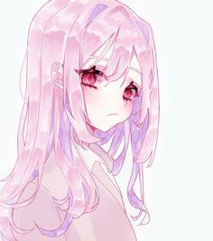 Anime Girl Pink, Pretty Anime Girl, Beautiful Anime Girl, Kawaii Anime Girl, Manga Girl, Anime Art Girl, Anime Girls, Luna Anime, Anime Chibi
