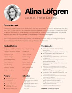 Resume Canva  Study    Amber Resume And Design