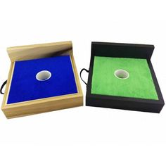 one hole washer toss set with backstop with 23 colors for paint and carpet