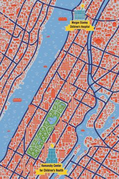 Jan Feliks Kallwejt - New York map
