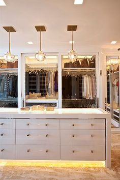 Floor To Ceiling Closet Cabinets - Design photos, ideas and inspiration. Amazing gallery of interior design and decorating ideas of Floor To Ceiling Closet Cabinets in closets, girl's rooms by elite interior designers. Dressing Room Closet, Dressing Room Design, Wardrobe Closet, Closet Bedroom, Dressing Rooms, Dressing Area, Master Closet, Closet Space, Closet Doors