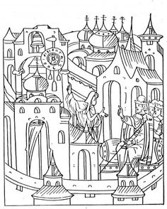 Art Coloring Pages and Sheets for Kids and Adults
