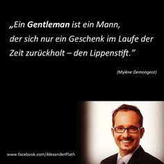 Meine Herren aufgepasst! #alexanderplath #gentleman #gentlemen #knigge #umgangsformen