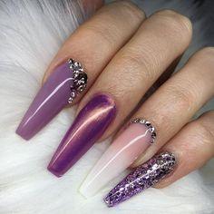 The Best Unicorn Nail Art Design Ideas & Tutorials Coffin Nails coffin shaped unicorn nails Best Nail Art Designs, Fall Nail Designs, Beautiful Nail Designs, Beautiful Nail Art, Gorgeous Nails, Unicorn Nail Art, Unicorn Nails Designs, Thanksgiving Nail Art, Special Nails