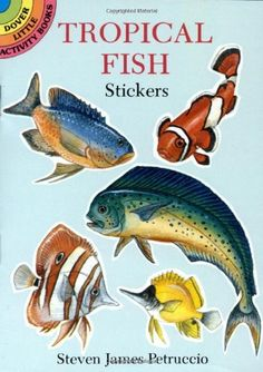 Tropical Fish Stickers (Dover Little Activity « Pet Lovers Ads