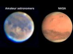 Perche' la NASA occulta i veri colori di Marte?