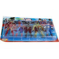 Set 5 supereroi Lunch Box