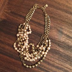 Stella & Dot Lucia pearl necklace EUC. NO TRADES/ PAYPAL. Please ask all questions before buying or offering. Stella & Dot Jewelry Necklaces