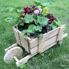 Déco jardin récup - décorer un jardin avec un petit budget -