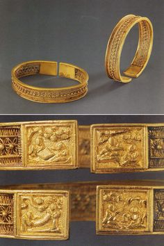 Antique: Traditional Chinese gold bracelet