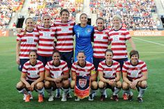 The US Women's Soccer team has just under two months before they take on France in their first group match of the 2012 Olympics, and Pia Sundhage has named her roster. Team USA is No. Girls Soccer Team, Us Soccer, Soccer Stuff, Soccer Players, Soccer Baby, Play Soccer, In China, Manchester United, Real Madrid