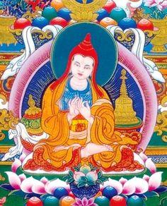 Atisha - né en 982 après Jésus-Christ et décédé en 1054, Nyêtang, Chine. Il était un célèbre moine, érudit bouddhiste et maître de méditation Indien. Sa biographie traditionnelle, qui rappelle celle de Bouddha, en fait un prince.- Le grand maître indien Atisha, auteur de la Lampe de la voie vers l'éveil -