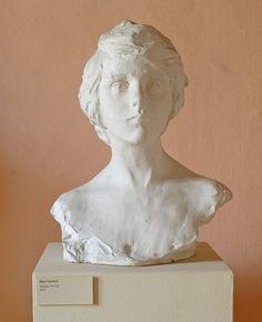 Paolo Troubetzkoy - Mary Pickford, 1919-20, cm 45 x 35 x 26.