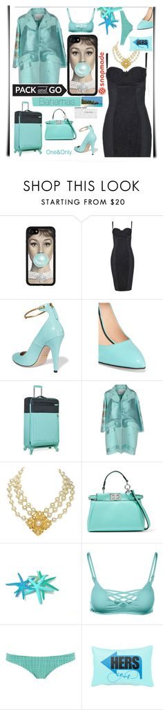 """""""Pack and go to the beach party tonight"""" by katymill ❤ liked on Polyvore featuring Dolce&Gabbana, Gucci, Nautica, Giada Benincasa, Chanel, Fendi, L*Space, Calipige, Packandgo and snapemade"""