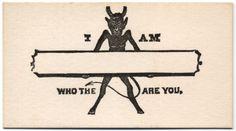 Vintage flirtation cards