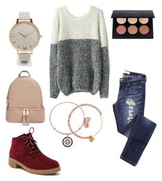 """""""Band concert tonight!"""" by lilyschaefer on Polyvore featuring MICHAEL Michael Kors, Olivia Burton and Alex and Ani"""