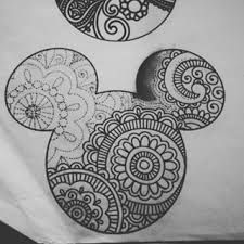 Image result for disney mandala tattoo