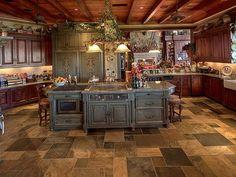 9-mediterranean-style-waterfront-estate   Home Interior Design ...love the floor