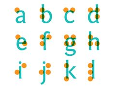 This is my first year teaching at Arkansas School for the Blind. I now know my Braille Alphabet, but I have so much more to learn!