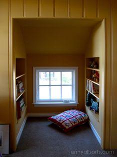 Bookshelves for the Alcoves ...