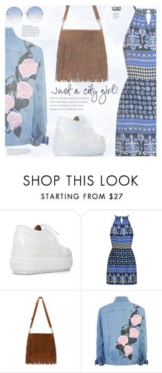 """""""Is it to early to plan for Coachella?"""" by eclectic-chic ❤ liked on Polyvore featuring Whiteley, Linda Farrow, modern, coachella, modernbohemian and yoins"""