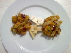 Peach Apple Celery Chutney Super easy, addition to vegan cheese:)