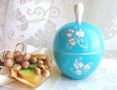 Original wood apple box wedding rings box jewelry by GattyGatty, $27.00