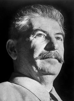 Joseph Stalin (1878-1953) was the dictator of the Soviet Union from the mid-1920s until his death in 1953 - Photo by Margaret Bourke-White [1941]