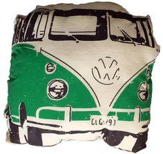 Check out this listing on Kidizen: VW Van Cushion Green via @kidizen #shopkidizen