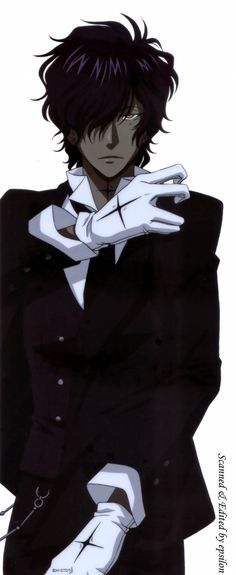With his black suit, white gloves, Top hat and frilly white dress shirt Tyki is the epitome of style. Description from ign.com. I searched for this on bing.com/images