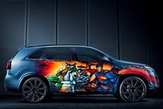 JUSTICE LEAGUE-inspired Kia Sorento