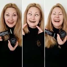 Fab over Does Charcoal Teeth Whitening Really Work? Diy Beauty Tutorials, Charcoal Teeth Whitening, Over 40, Activated Charcoal, Smile, Tips, Check, Activated Charcoal Uses, Laughing