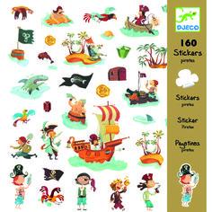 DJECO Sticker-Set Piraten -160 St. Bastelmaterial