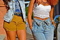 . African Street Style, African Style, Jamaica Reggae, Overalls, Denim Shorts, Sister Act, South African Fashion, Overall Shorts, Urban