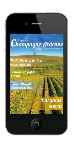 Digital Dialog designed an app marketing campaign to promote the newly launched Champagne Ardenne App for Atout France. App Marketing, Gothic Cathedral, Creative Advertising, Strasbourg, Alsace, Lorraine, Case Study, App Design, Mobile App