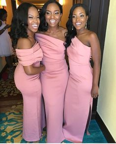 Pretty Trio Of Bridesmaids . Picture via @pretty_cute19 . . #africanandslaying #melanin #cute #black #blackgirl #love #african #likes4likes #comment #comments #comment4comment #slay #slayers #like #cool #instagood #instalike #slaying #instagram #blogger #instagram #melanin #followtrain #darkskin #blog #personal #Jollofrice #food #foodblogger #foodblogging #rihanna