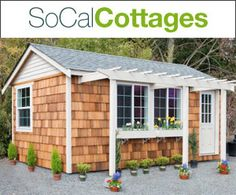 200-600 sq ft Pre-Fab Guest House cottages Delivered and Installed for as low as $6450
