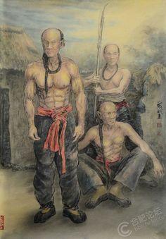 Manchu troops, Opium War