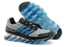 8532b8076a4d6 Adidas Springblade Running Shoes Grey Black Blue