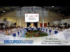 Discurso del Presidente Rafael Correa en la V Convención Nacional del Movimiento AP 01/10/2016 - YouTube