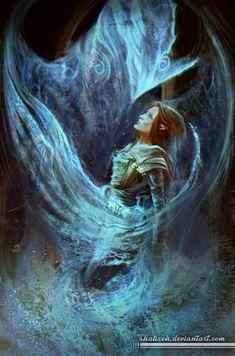 Well Of Sorrows by shalizeh.deviantart.com on @DeviantArt