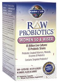 Raw Probiotics For Women 50 & Wiser by Garden of Life - Buy Raw Probiotics For Women 50 & Wiser 90 Veggie Caps at the Vitamin Shoppe