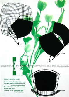 K + kelley green ::  #Bertoia advertisement by Herbert #Matter